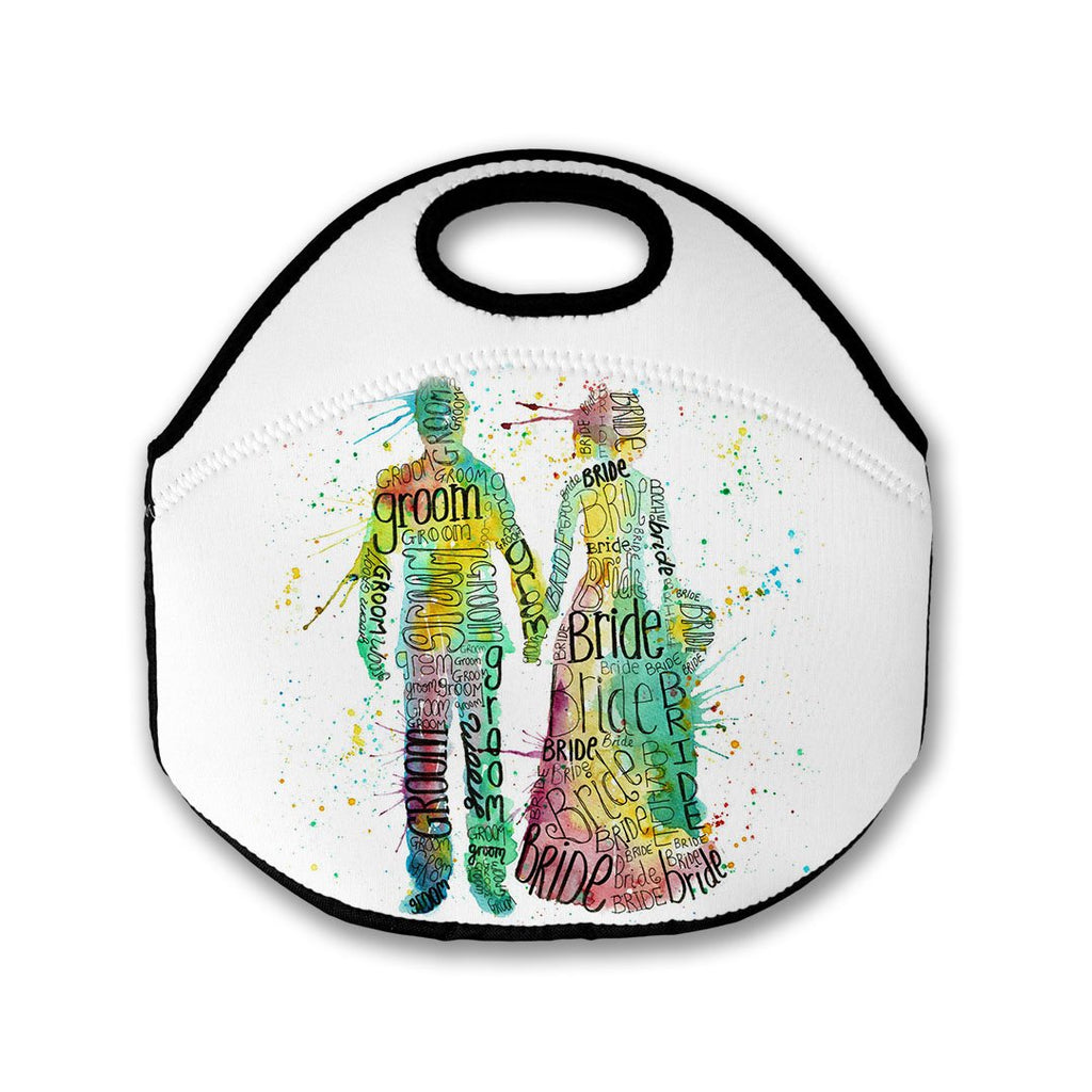 Bride and Groom Lunch Tote Bag