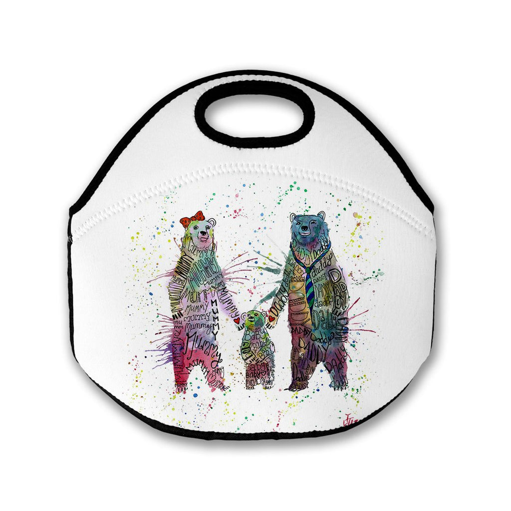 Mummy, Babby, Daddy Bears Lunch Tote Bag