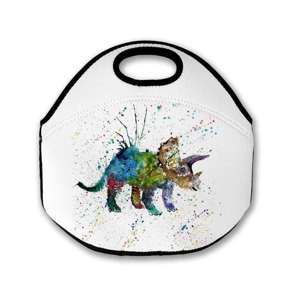 """Steve"" Triceratops Lunch Tote Bag"