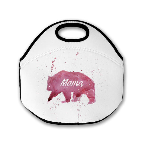 Mama Bear Lunch Tote Bag