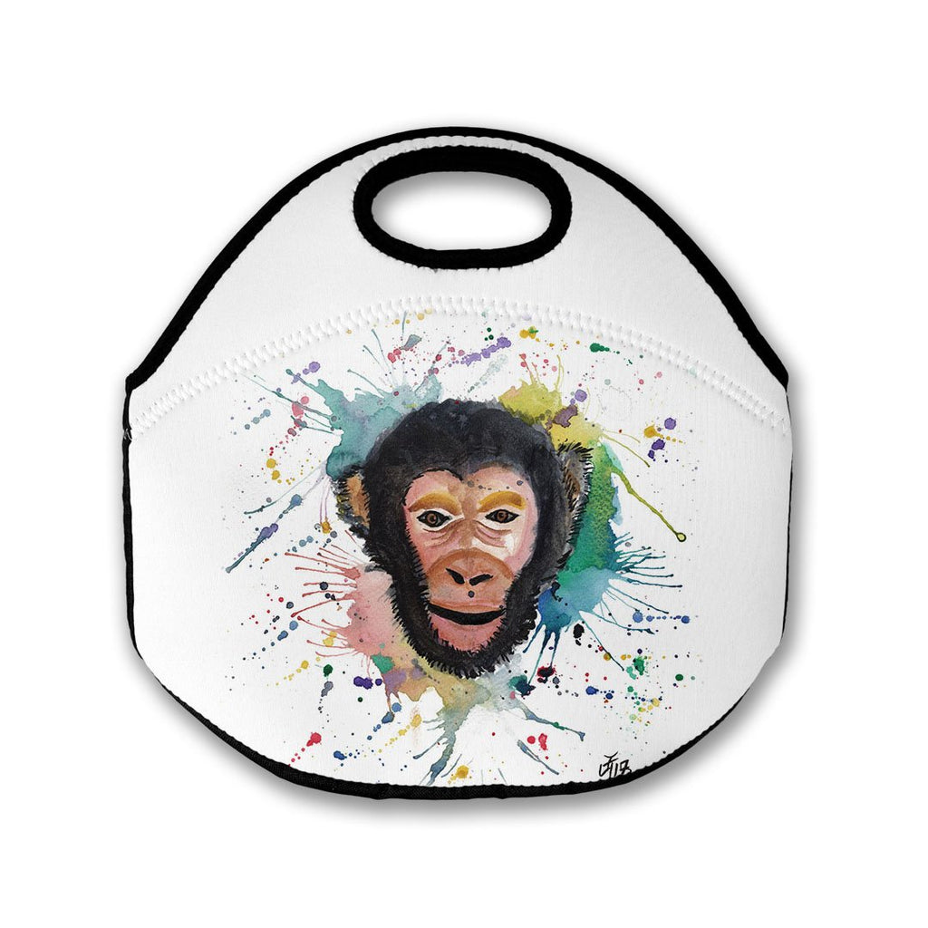 """Ciril"" Monkey Lunch Tote Bag"