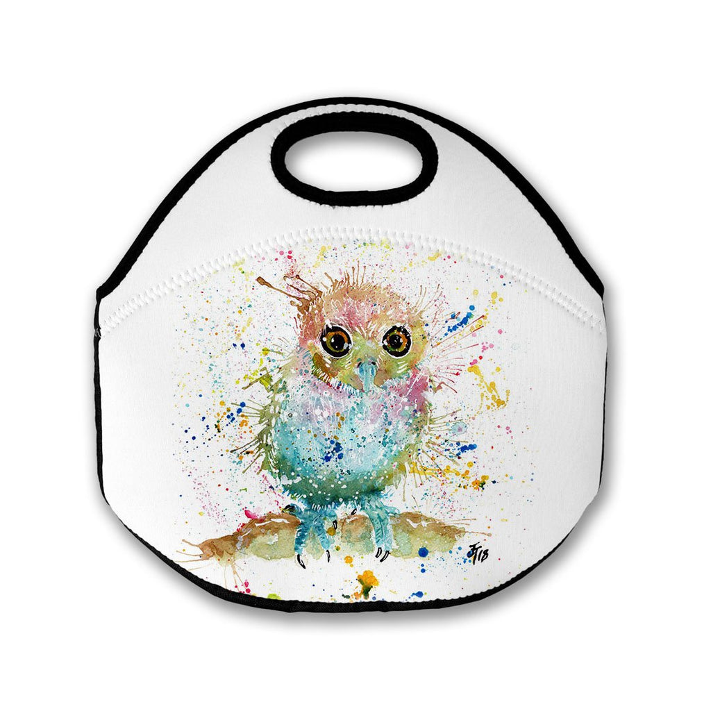 Baby Owl Lunch Tote Bag