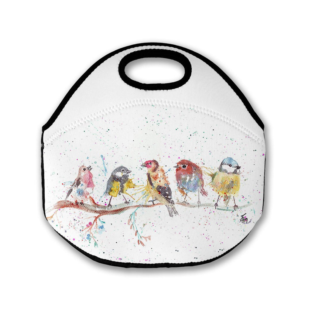 """Tree Friends"" Birds 2 Lunch Tote Bag"