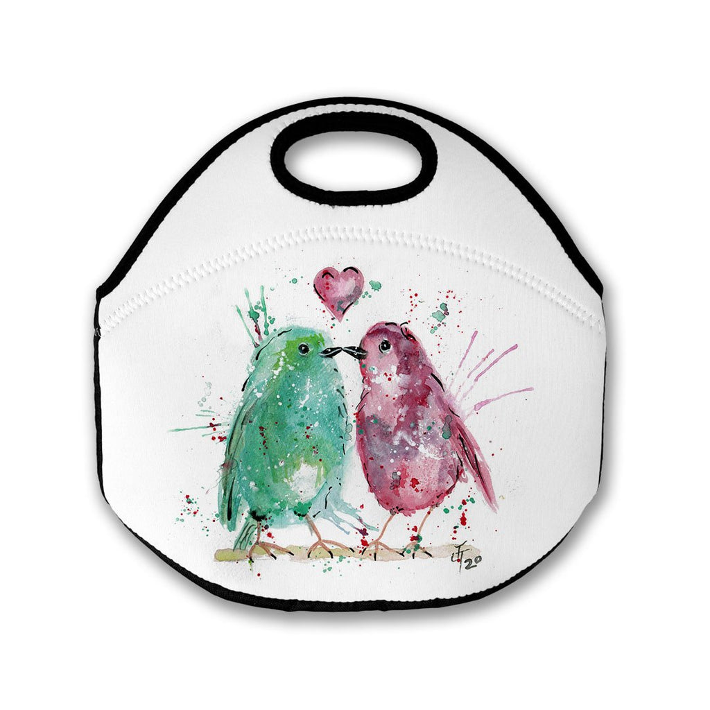 Tweet Heart Lunch Tote Bag