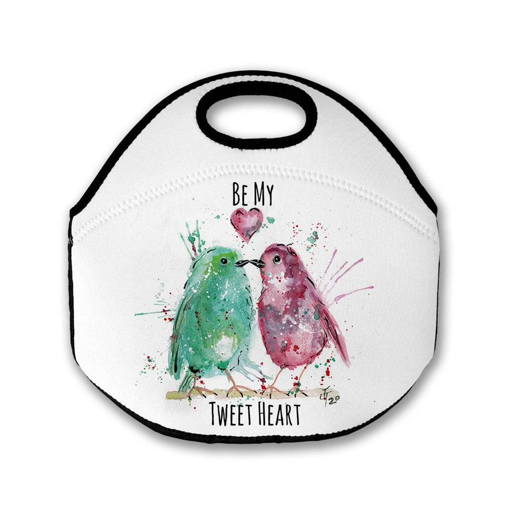 Be My Tweet Heart Lunch Tote Bag