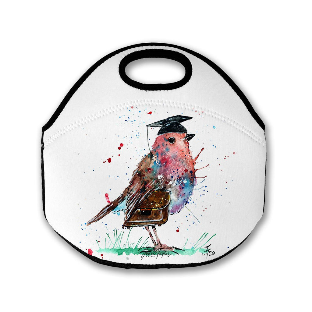 """Teach"" Robin Lunch Tote Bag"