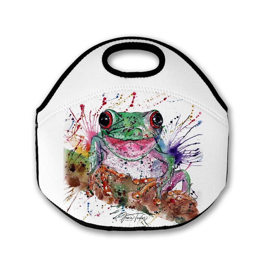Chris the Frog Lunch Tote Bag