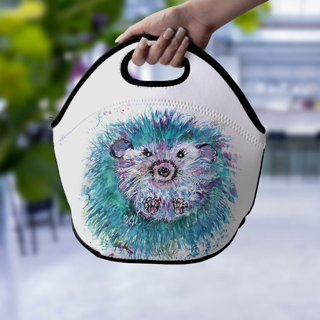 """Maisey"" Hedgehog Lunch Tote Bag"