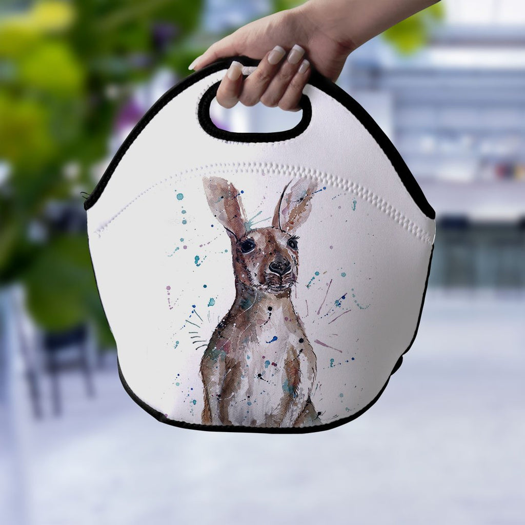 """Casey"" Kangaroo Lunch Tote Bag"