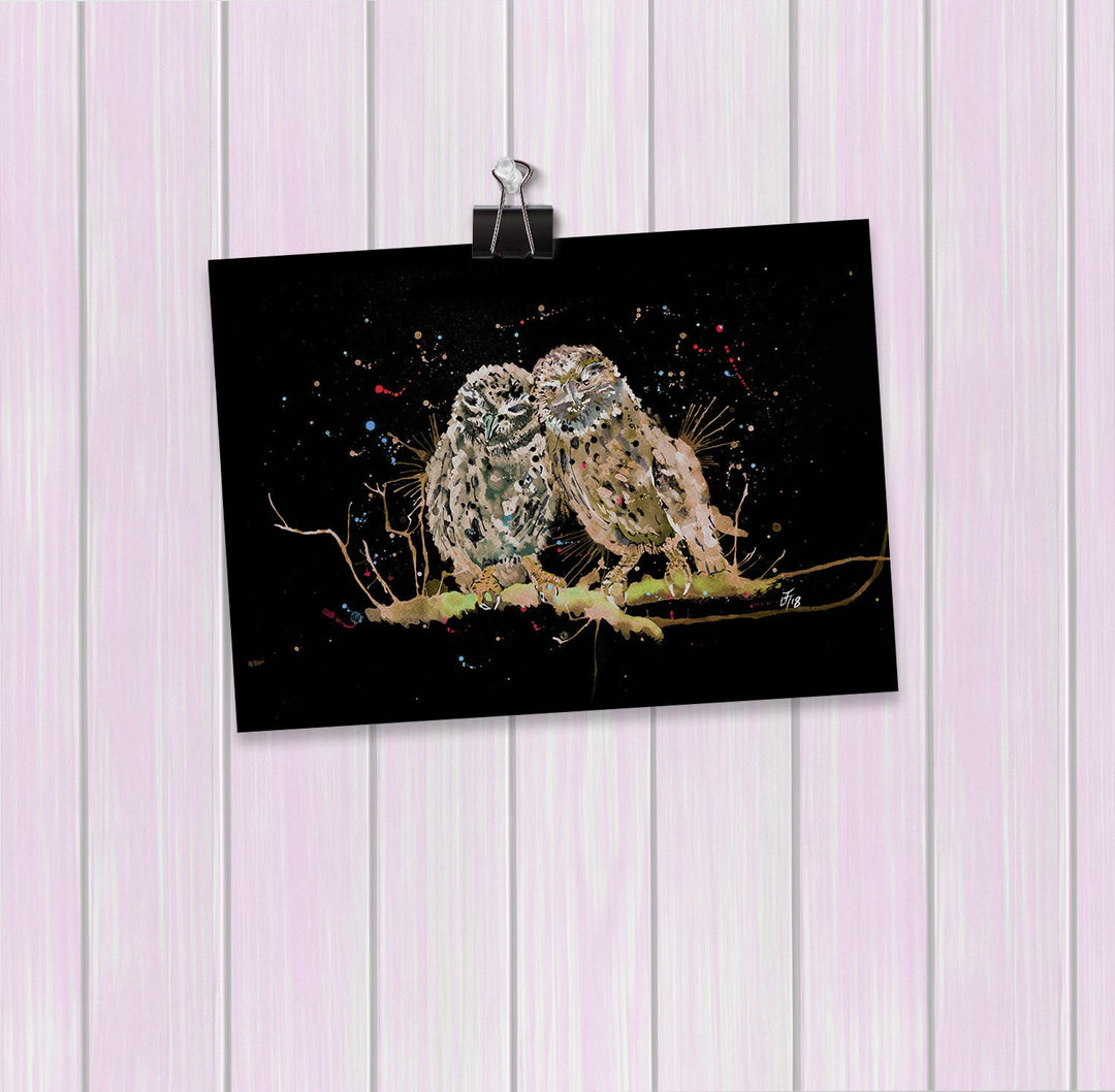 My Favourite Owl Enchanted Art Mini Print