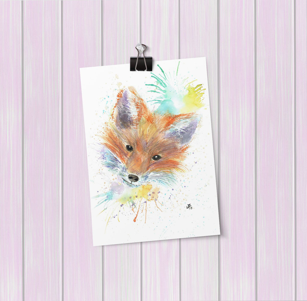 Mr Foxy Art Mini Print