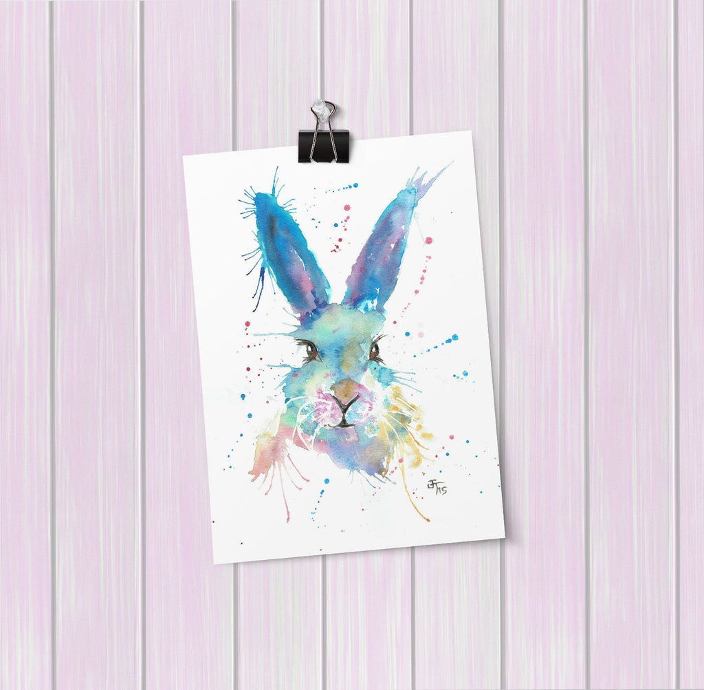 Mr Bunny Art Mini Print