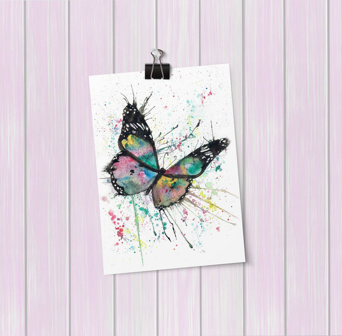 """Flutter"" Butterfly Art Mini Print"