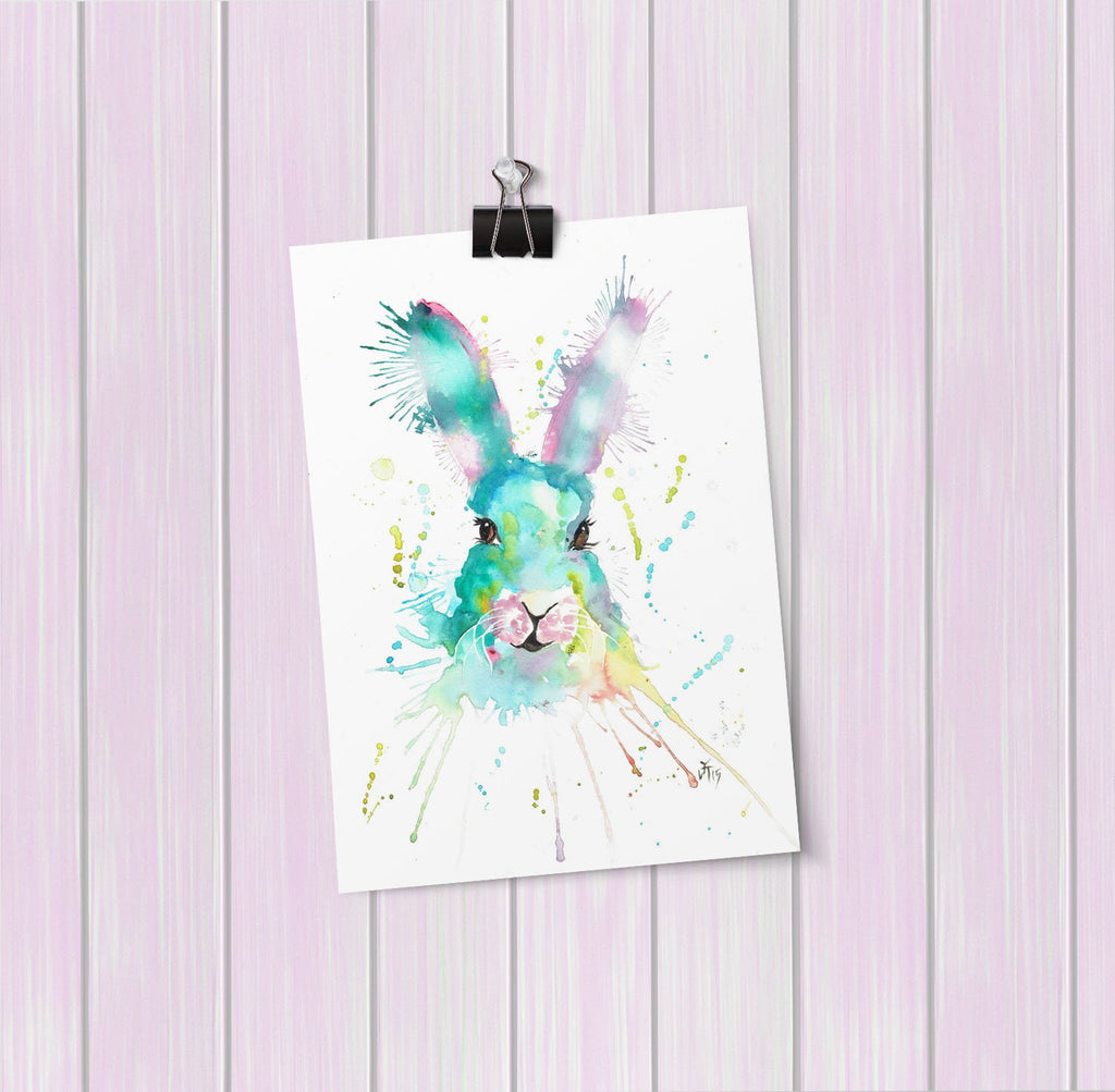 """Mystic"" Hare Art Mini Print"