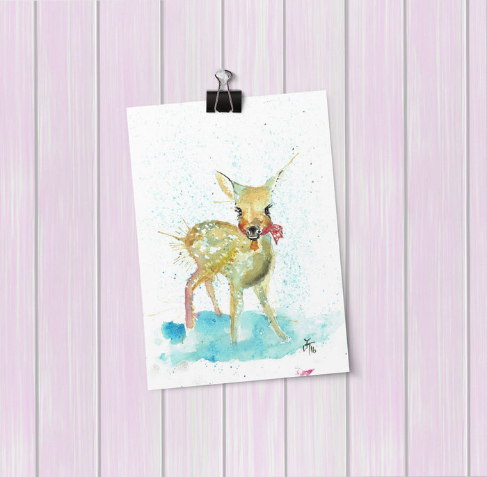 Oh Deer Art Mini Print