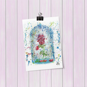 Magic Rose Art Mini Print