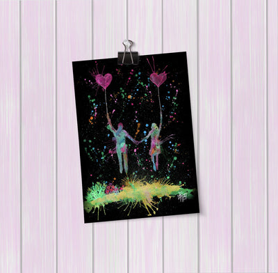 Fly Away With Me Enchanted Art Mini Print