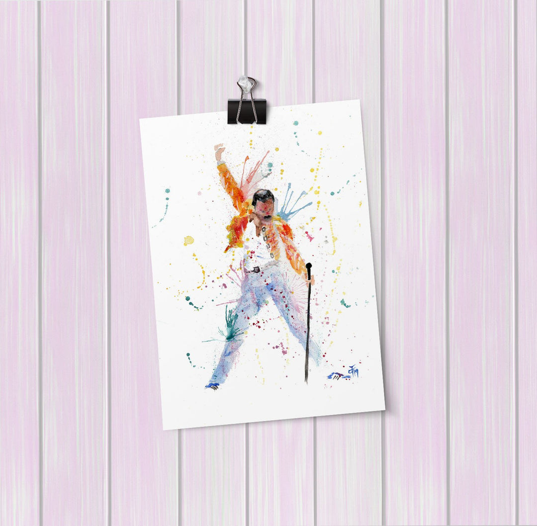 """Freddie"" Art Mini Print"