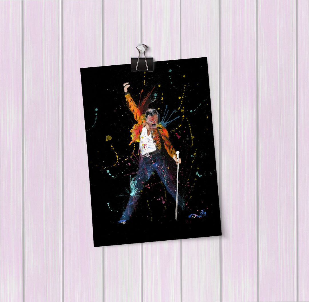 """Freddie"" Enchanted Art Mini Print"