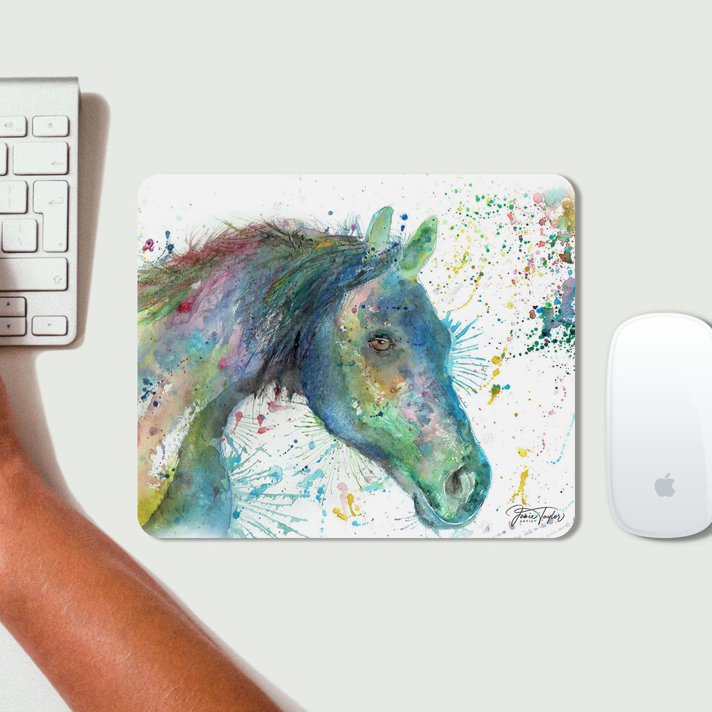 """Neigh"" Horse Desk Mousemat"