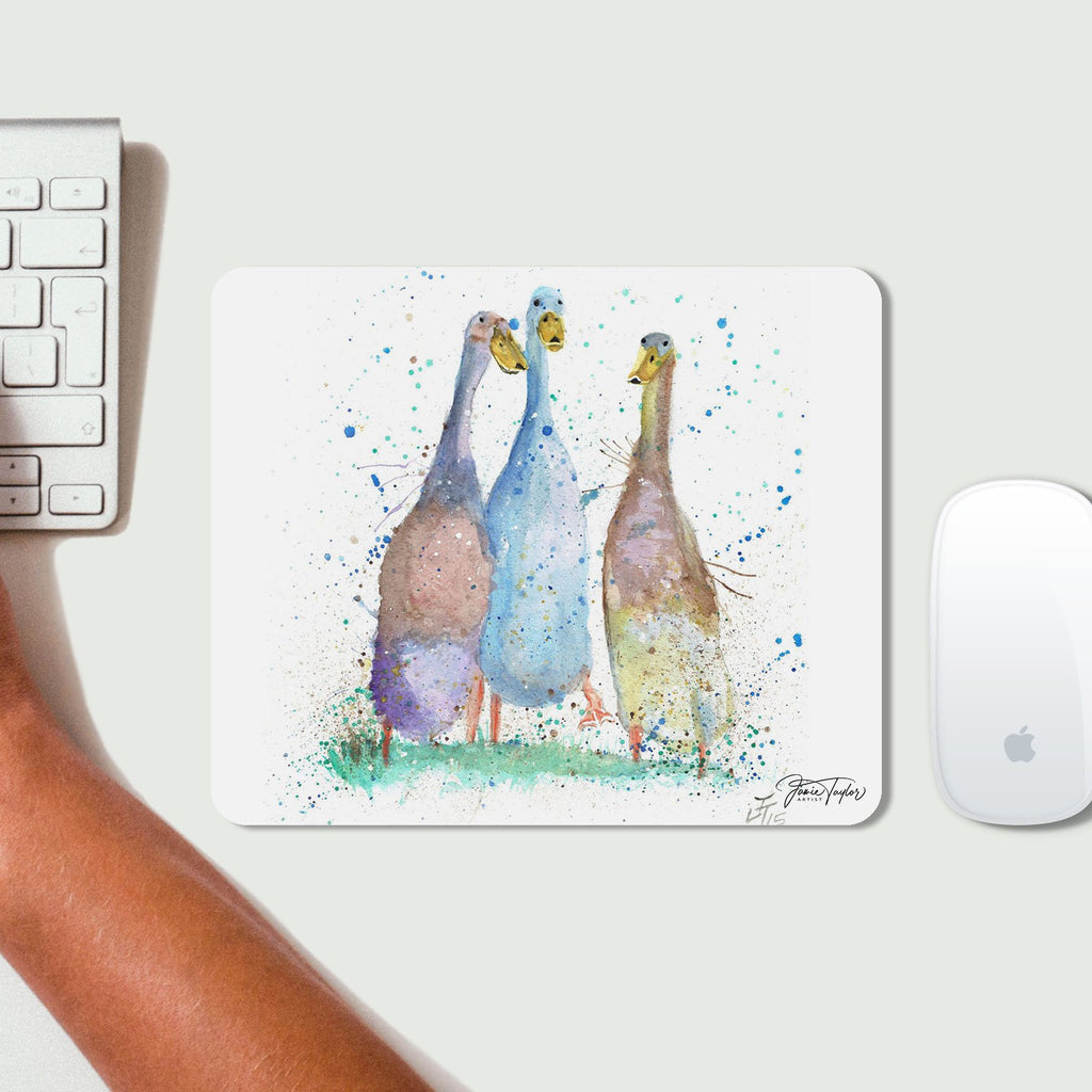 Three Runner Ducks Desk Mousemat