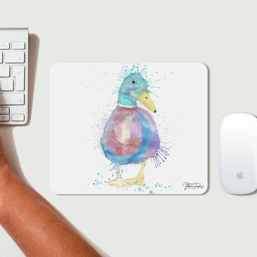 Monsieur Puddle DUck Desk Mousemat