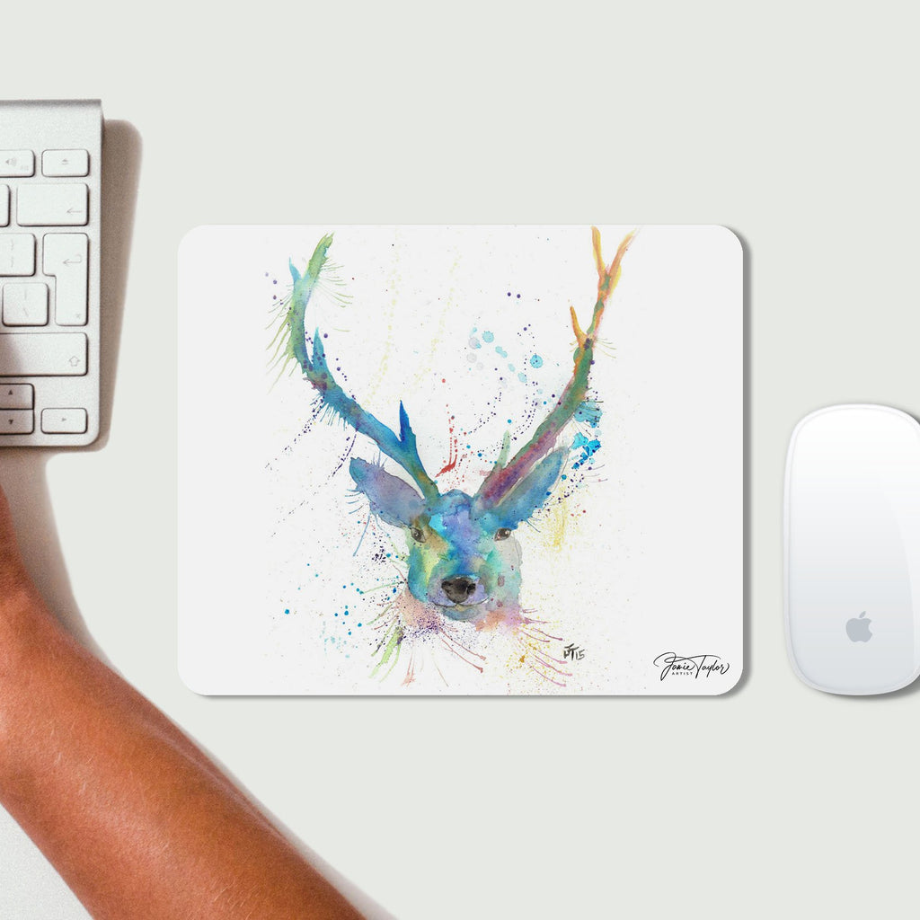 """Bruce"" Stag Desk Mousemat"
