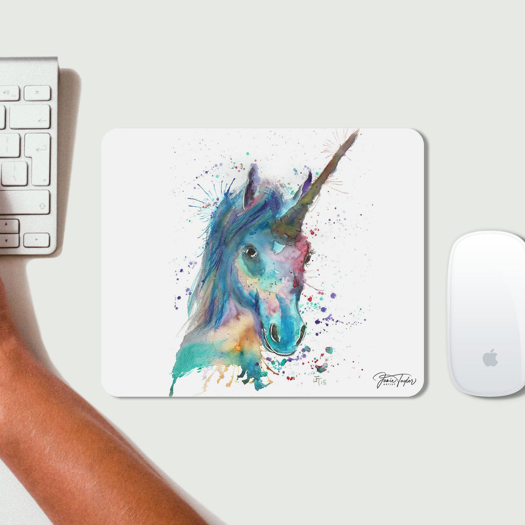 """Marge"" Unicorn Desk Mousemat"