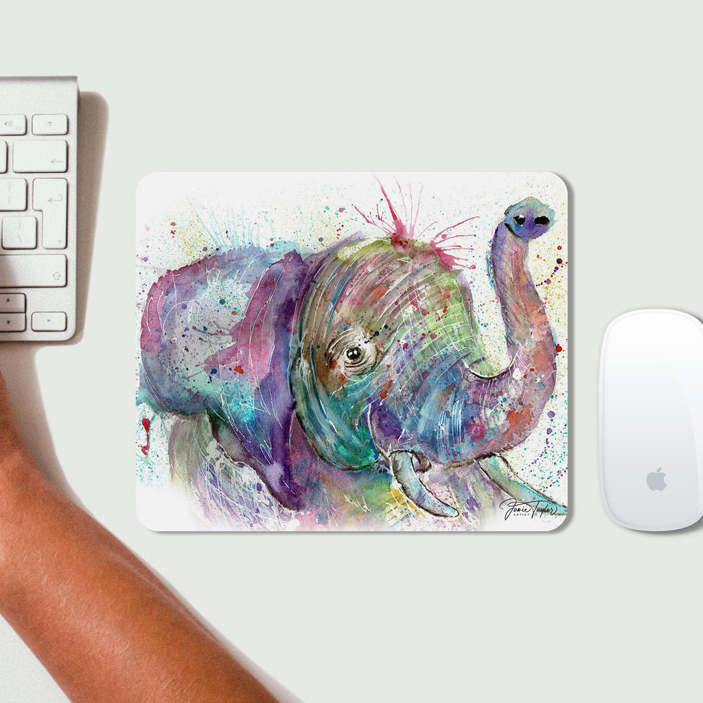 """Ele"" Elephant Desk Mousemat"