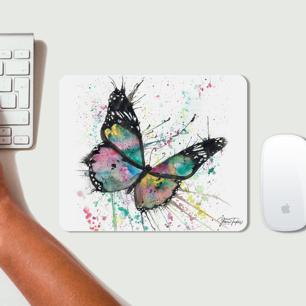 """Flutter"" Butterfly Desk Mousemat"