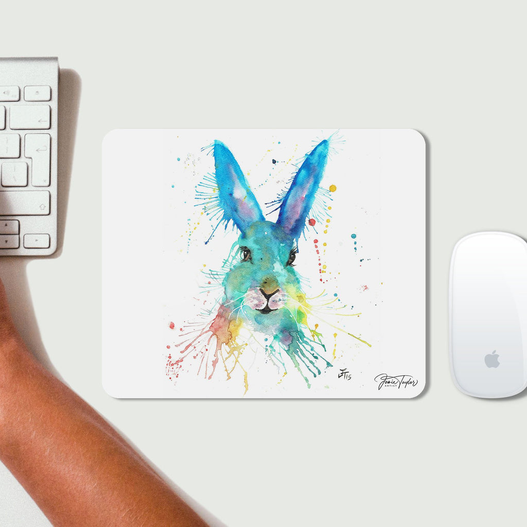Hare Hare Desk Mousemat