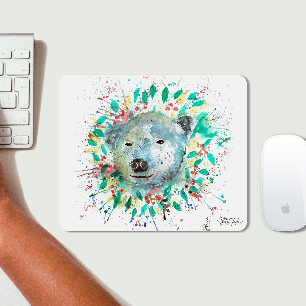 Polar Desk Mousemat