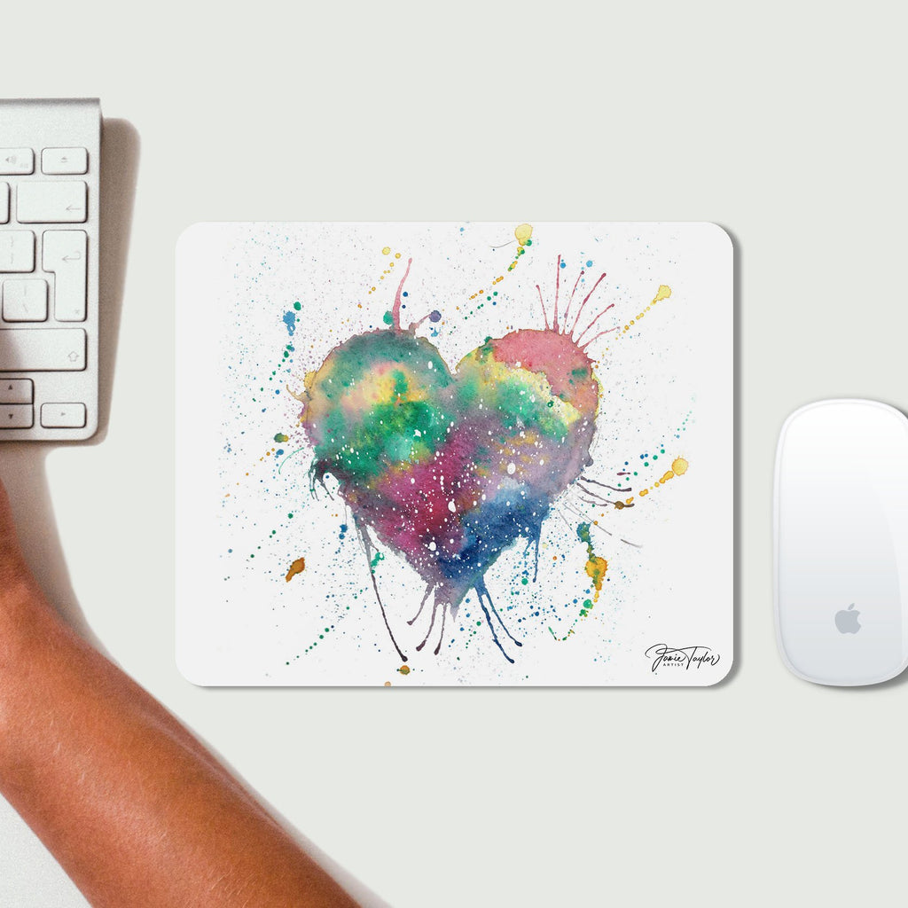 Heart Desk Mousemat