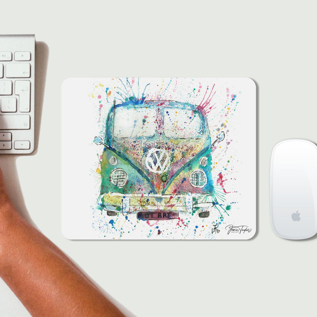 Camper Van Desk Mousemat