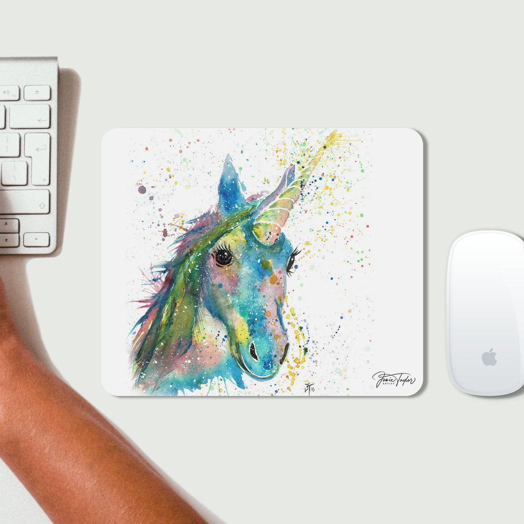 """Patty"" Unicorn Desk Mousemat"