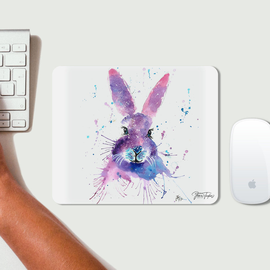 """Berry"" Hare Desk Mousemat"