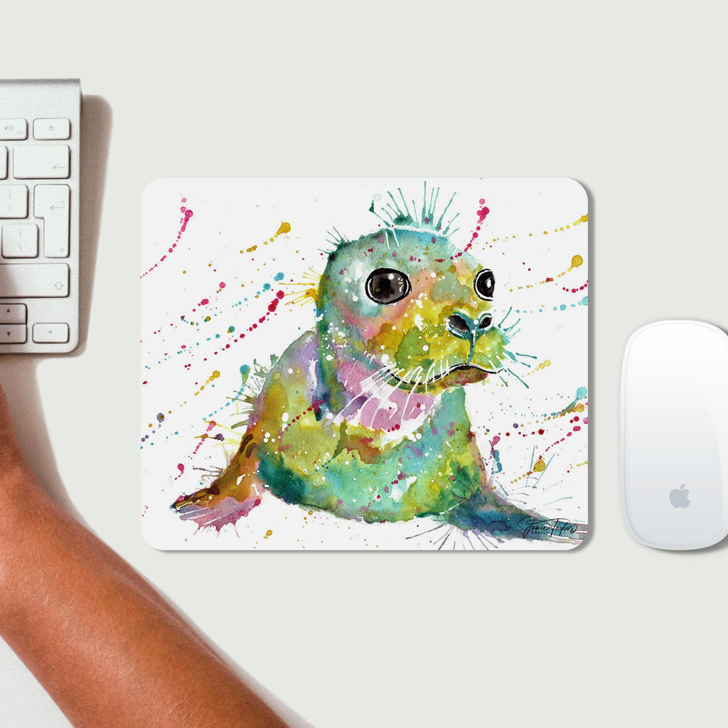 """Toby"" Seal Desk Mousemat"