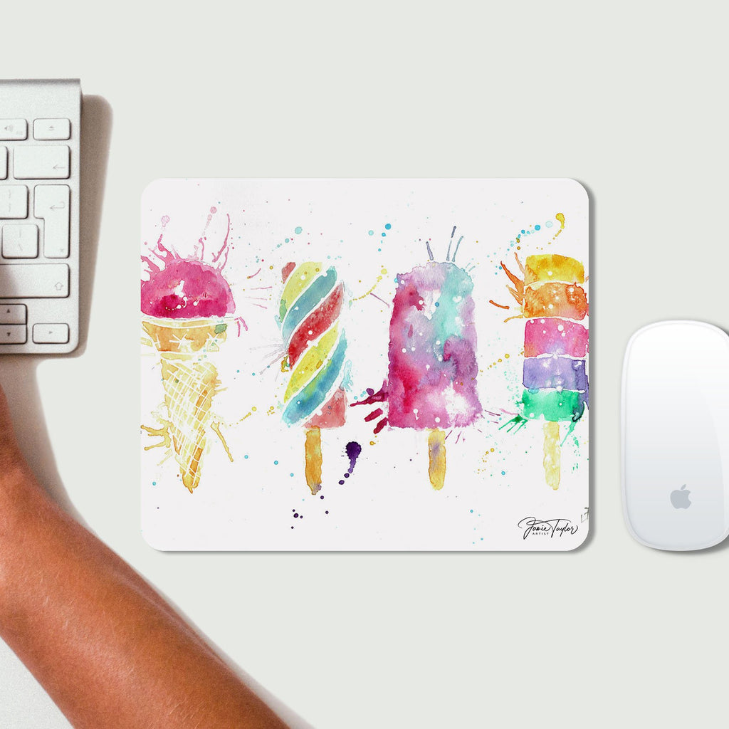 Ice Lollies Desk Mousemat