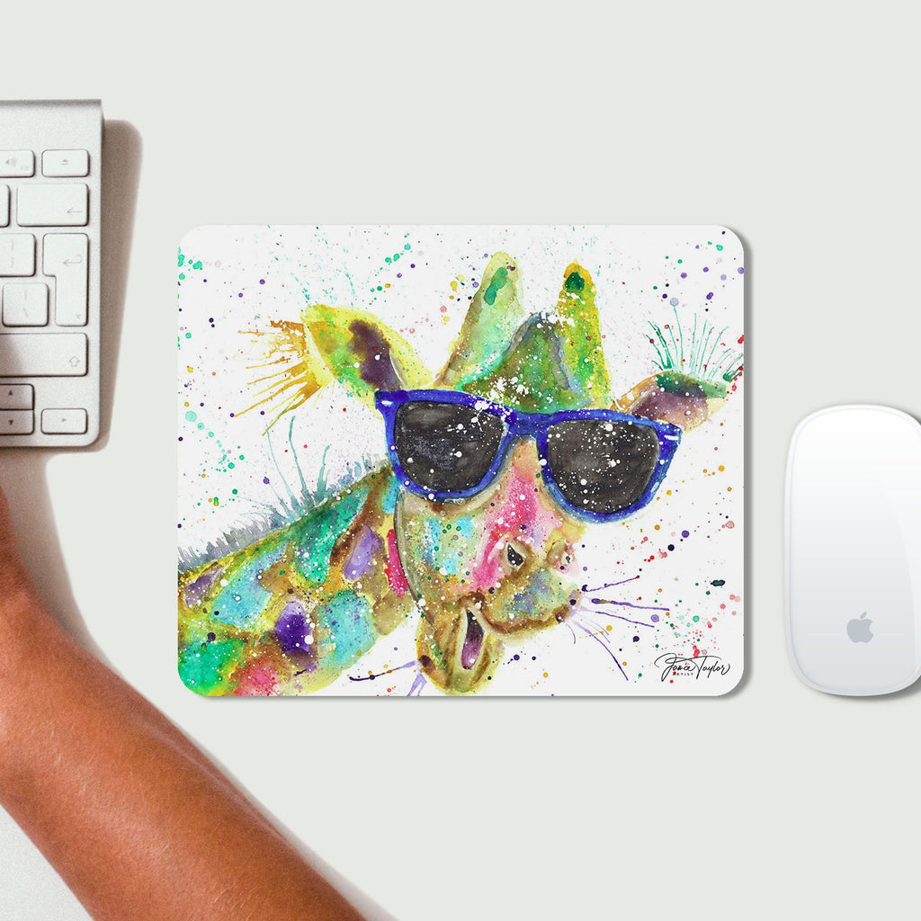 """Keith"" Giraffe Desk Mousemat"