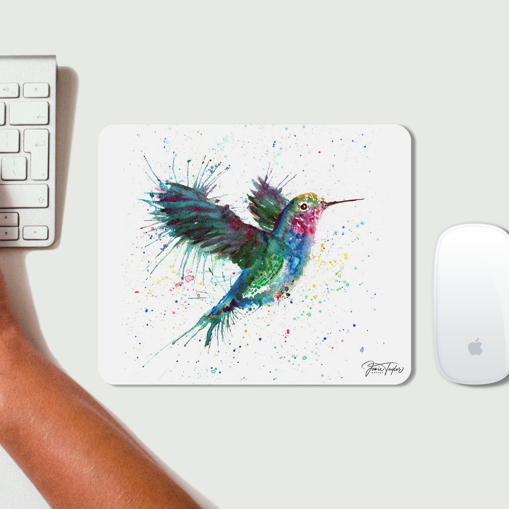 """Sue"" Humming Bird Desk Mousemat"