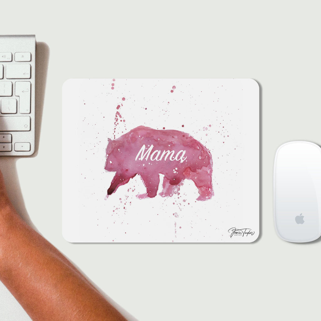 Mama Bear Desk Mousemat