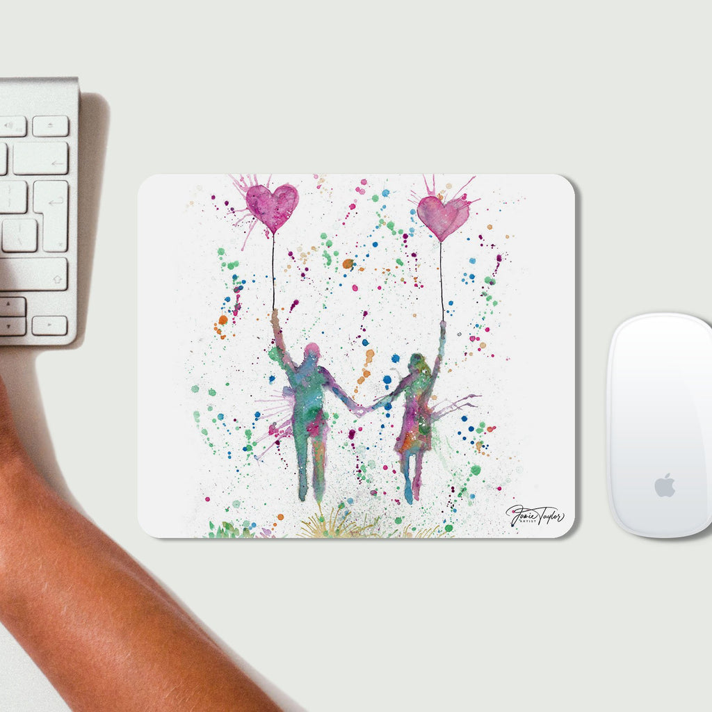 Fly Away With Me Desk Mousemat