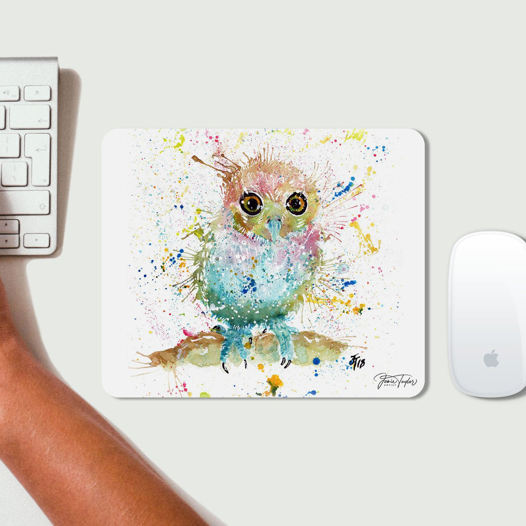 Baby Owl Desk Mousemat