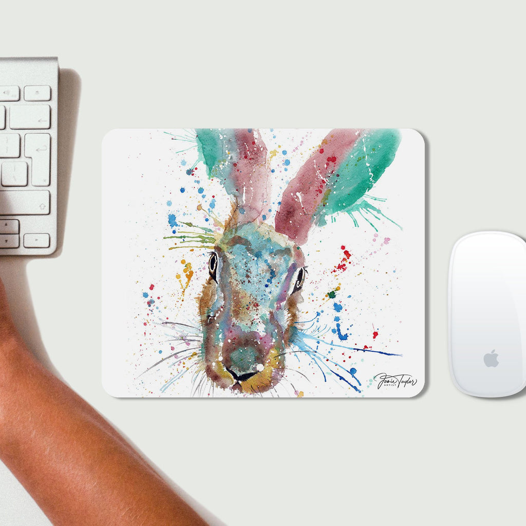 Riddle Hare Desk Mousemat