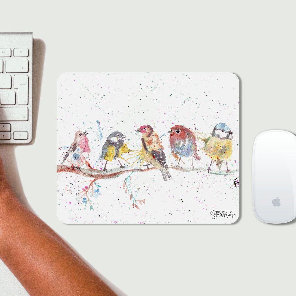 """Tree Friends"" Birds 2 Desk Mousemat"