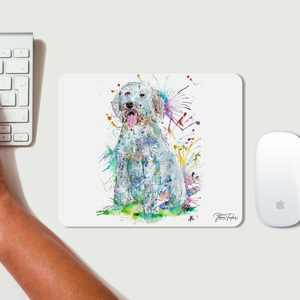 """Wilf"" Cockapoo Desk Mousemat"