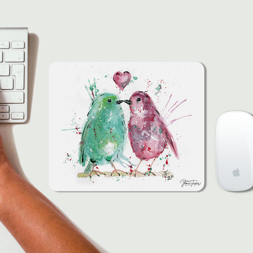Tweet Heart Desk Mousemat