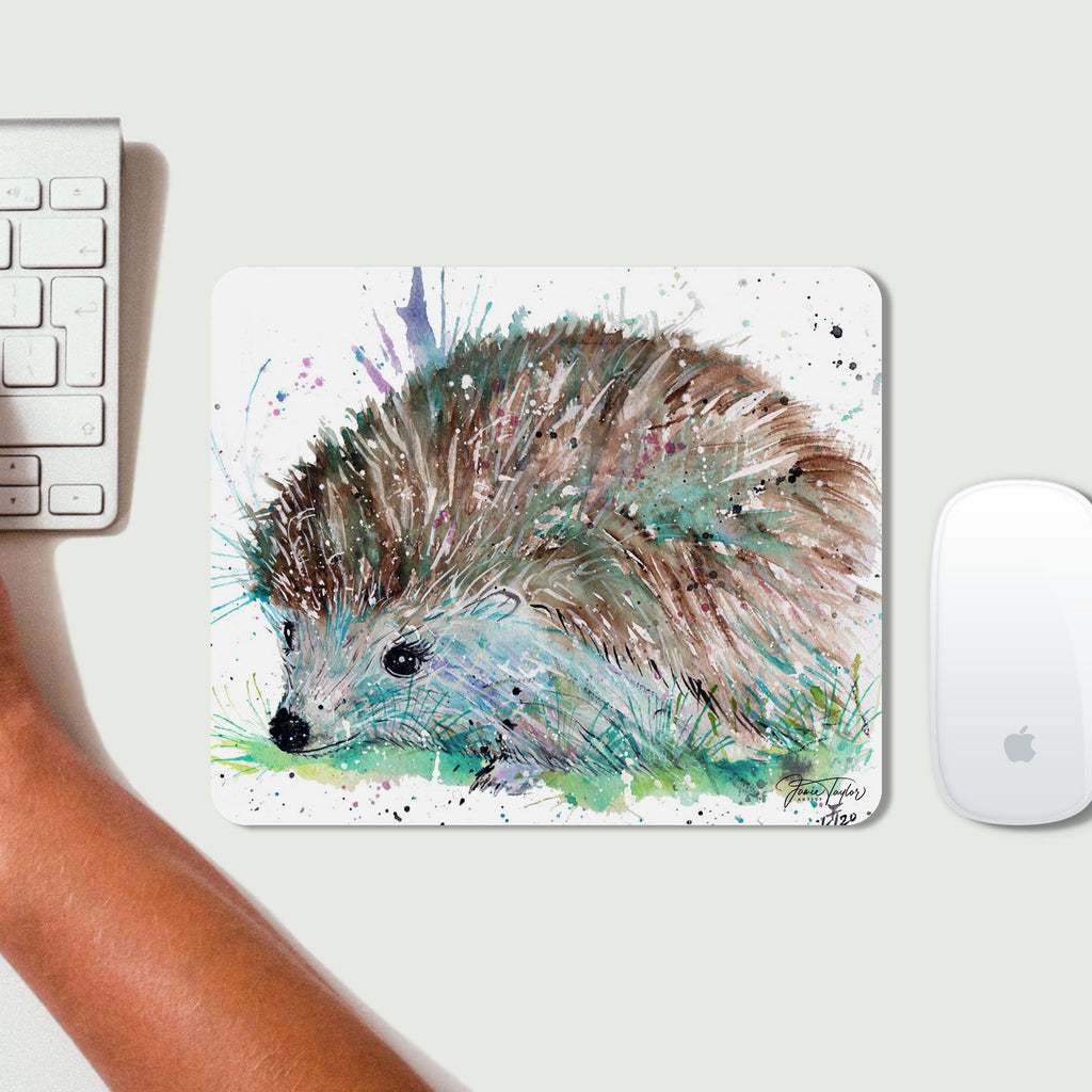Sweet Hedgehog Desk Mousemat
