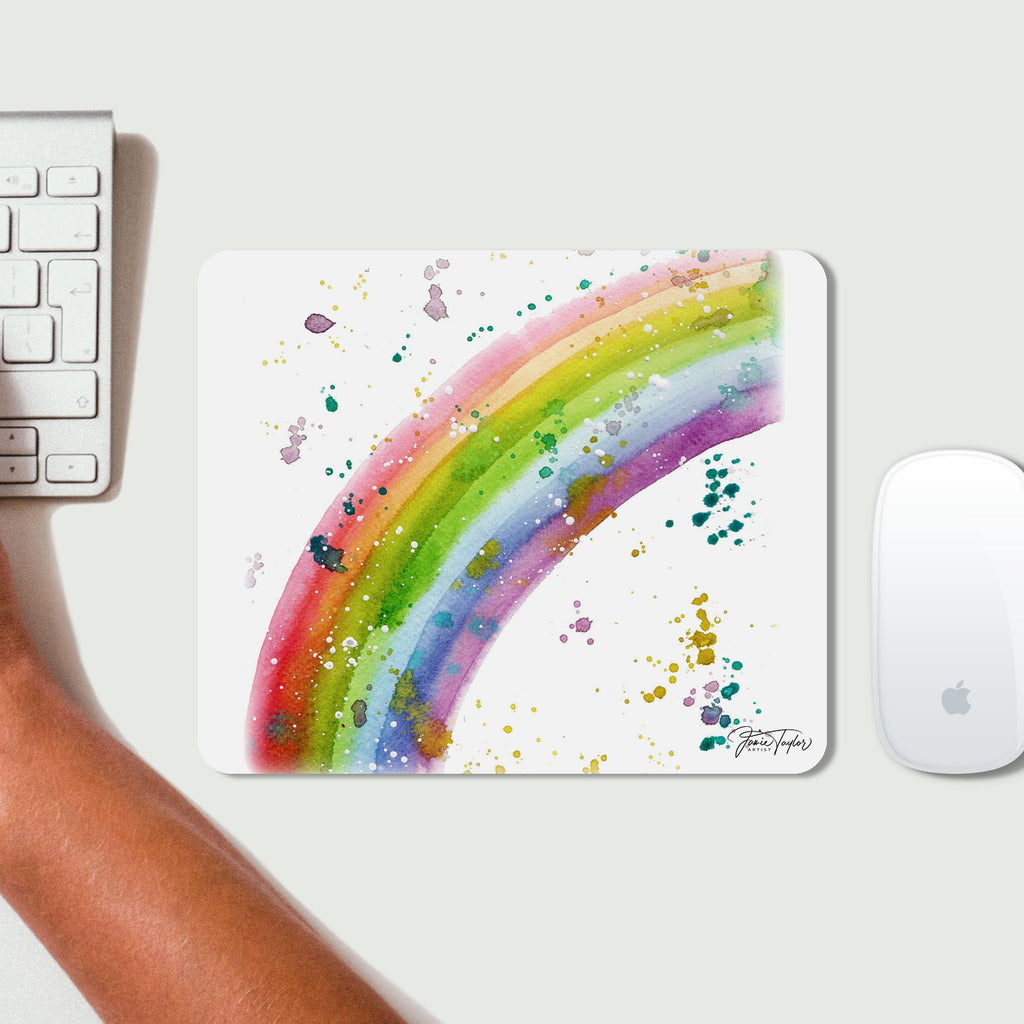 Rainbow Desk Mousemat