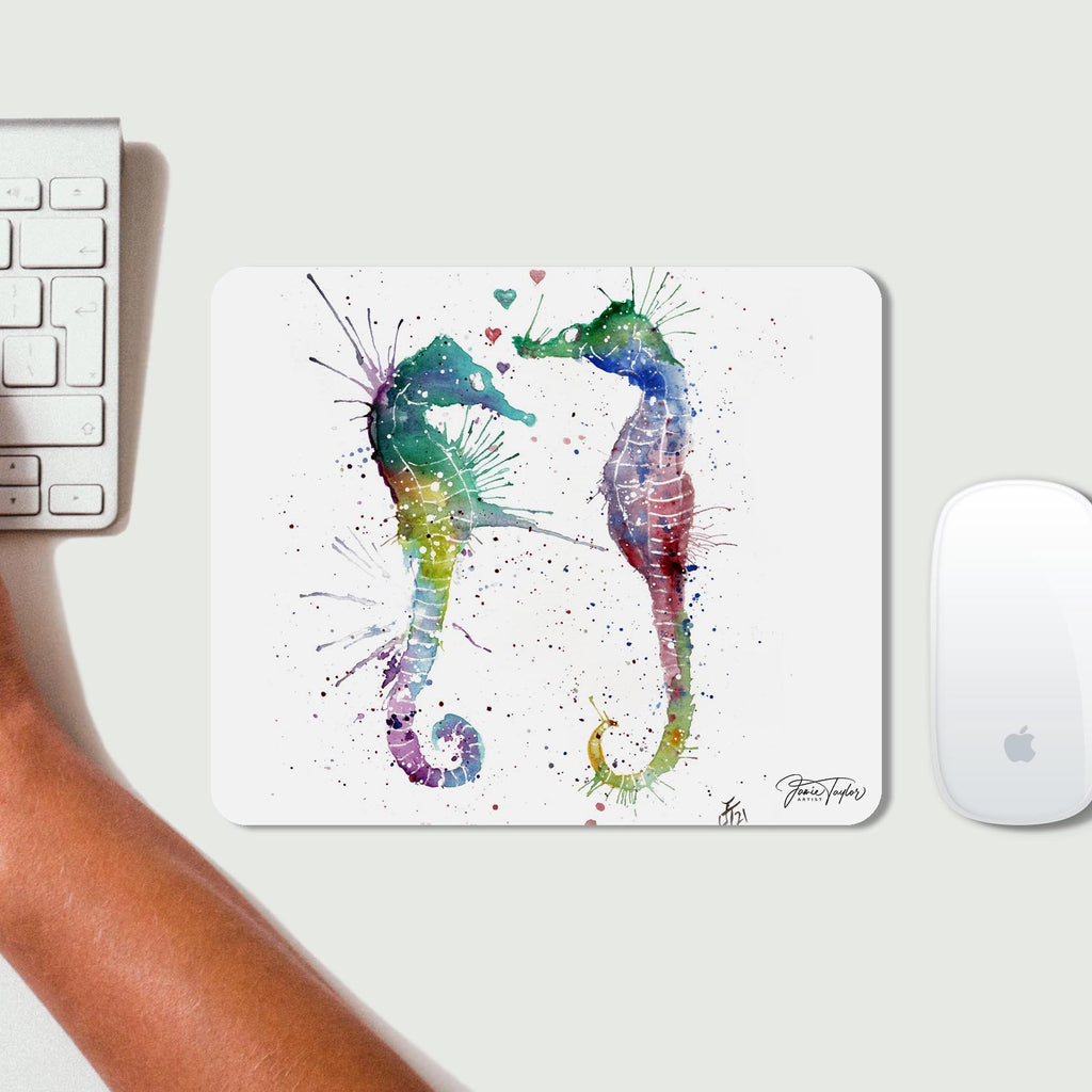 You and Me Desk Mousemat